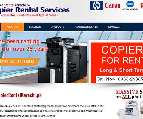 Copier Rental Services