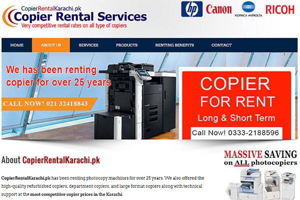 Copier Rental Services