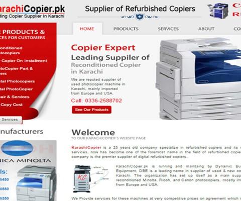 Karachi Copier (Copier Supplier)