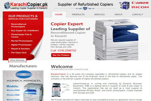 Karachi Copier (Copier Supplier)