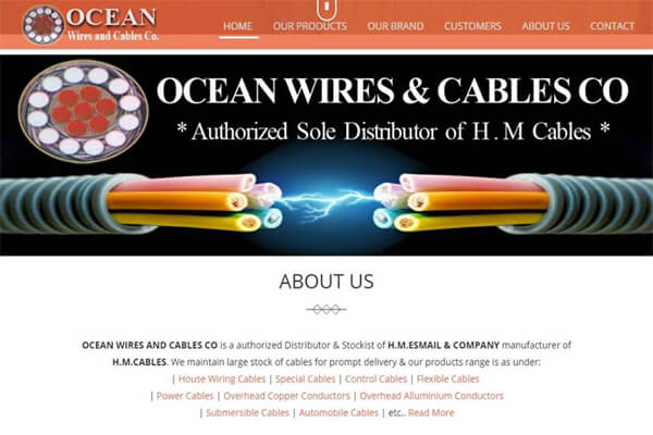 Ocean Wires (H.M Cables Distributor)