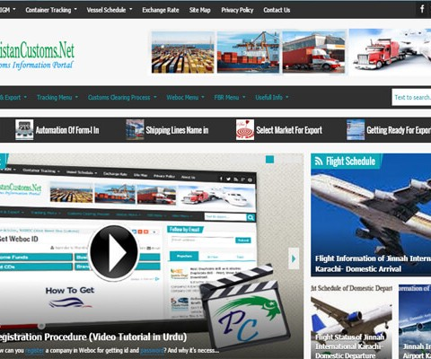 PakistanCustoms.net