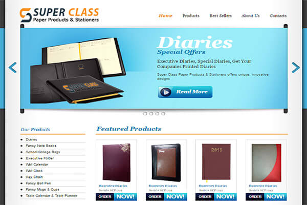 Super Class Paper Products (Supplier)