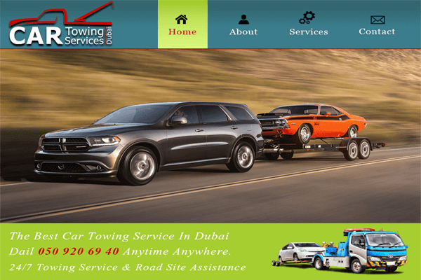 Dubai Car Recovery Assistance
