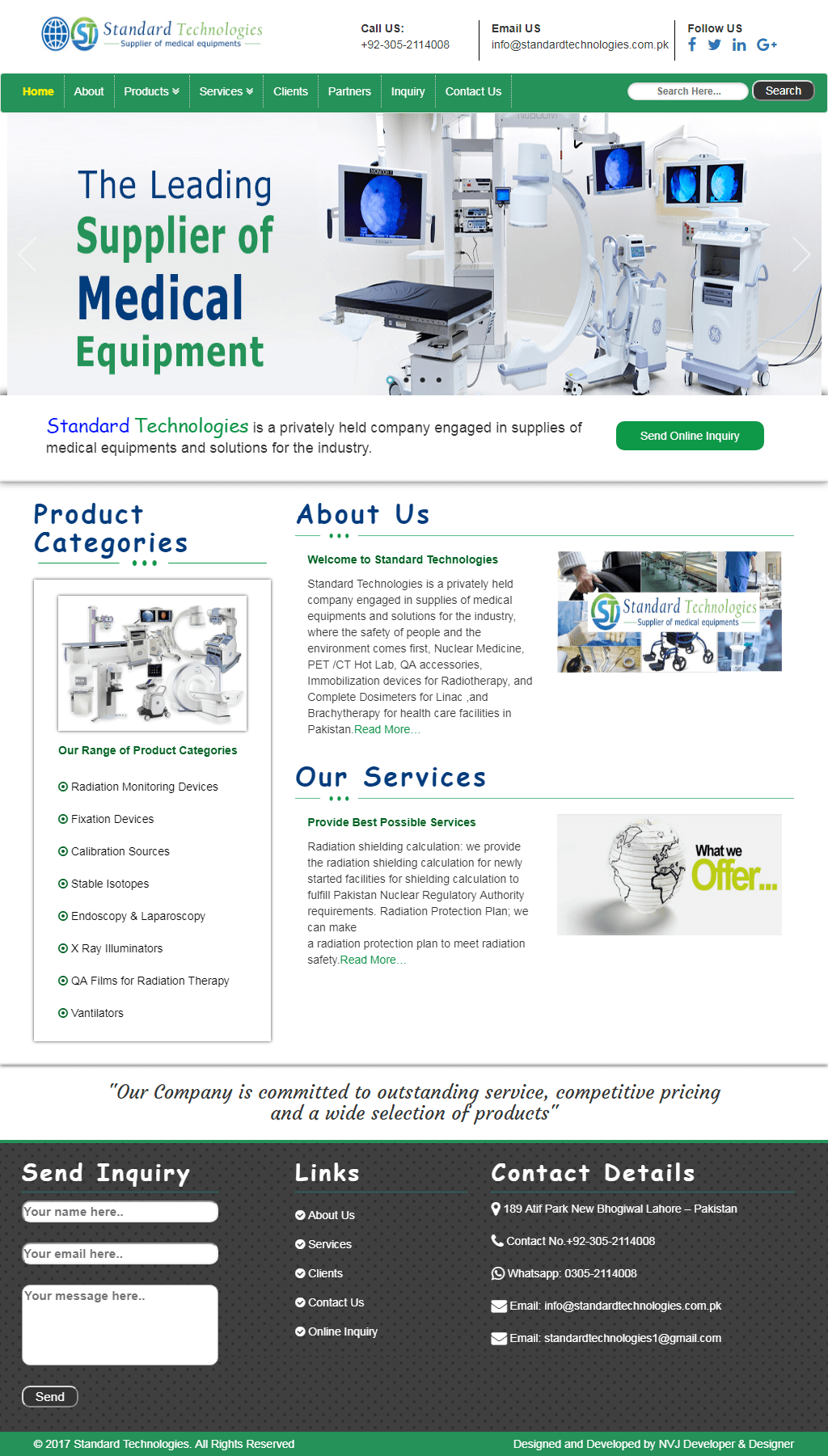 NVJ-Developers-Client-Medical-Equipment