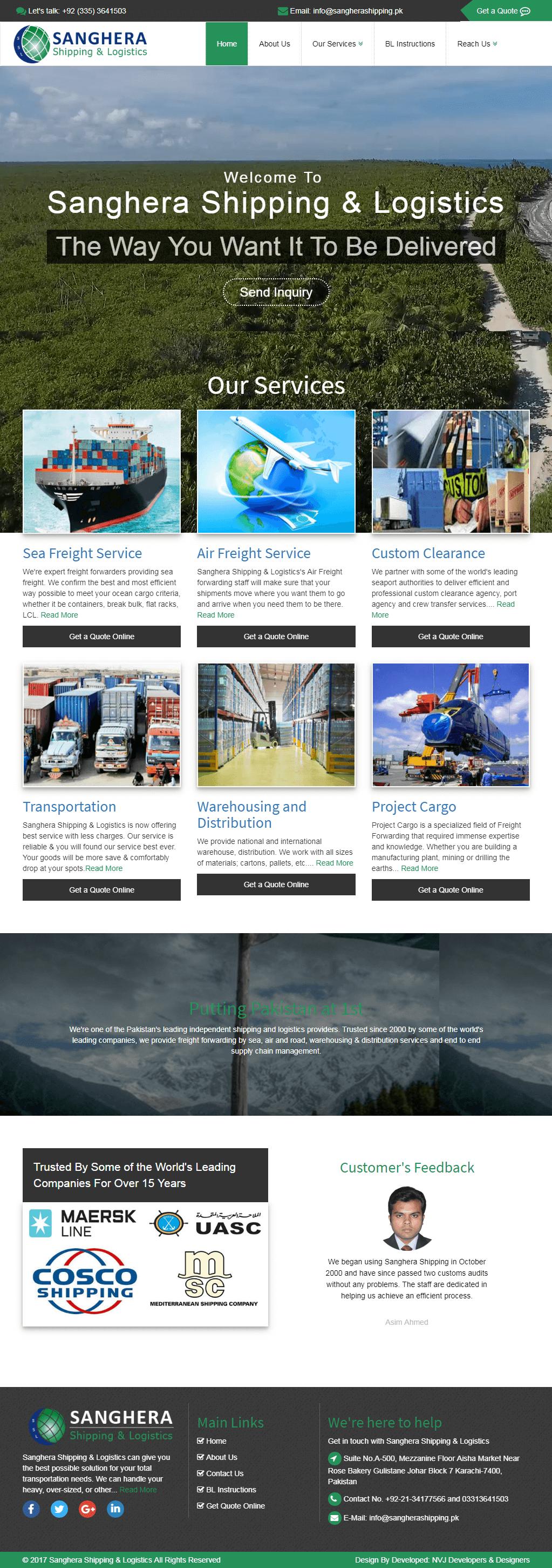nvjdevelopers-portfolio-freight-forwarder