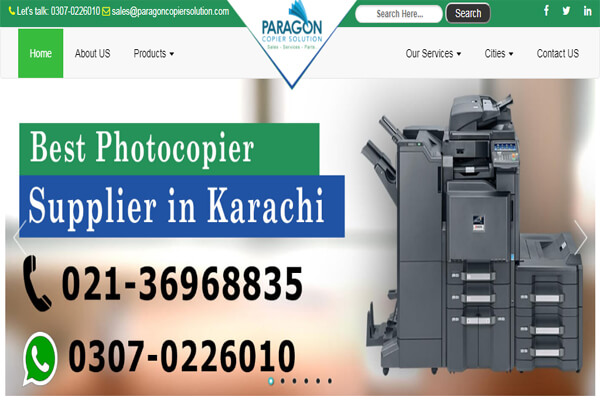 Copier Machine Distributor
