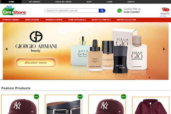 Online Store (E-Commerce)