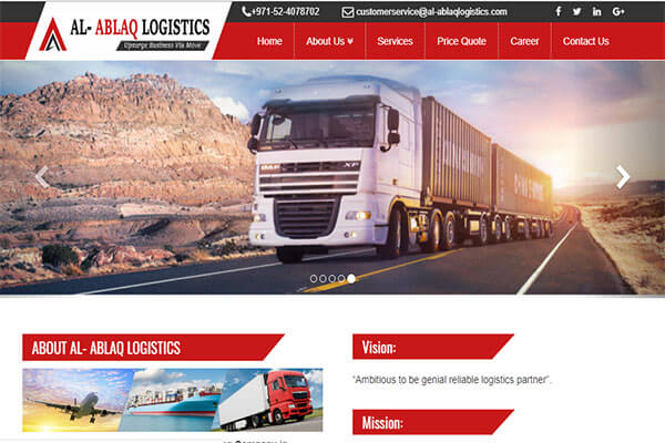 Freight Forwarder (Logistics Company)