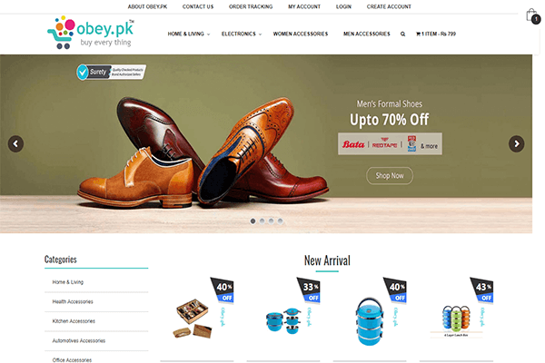 E-Commerce (Online Store)
