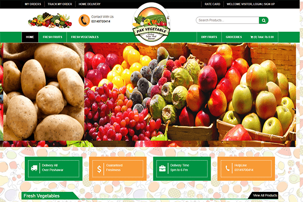 Pak Vegetables (Online Store)