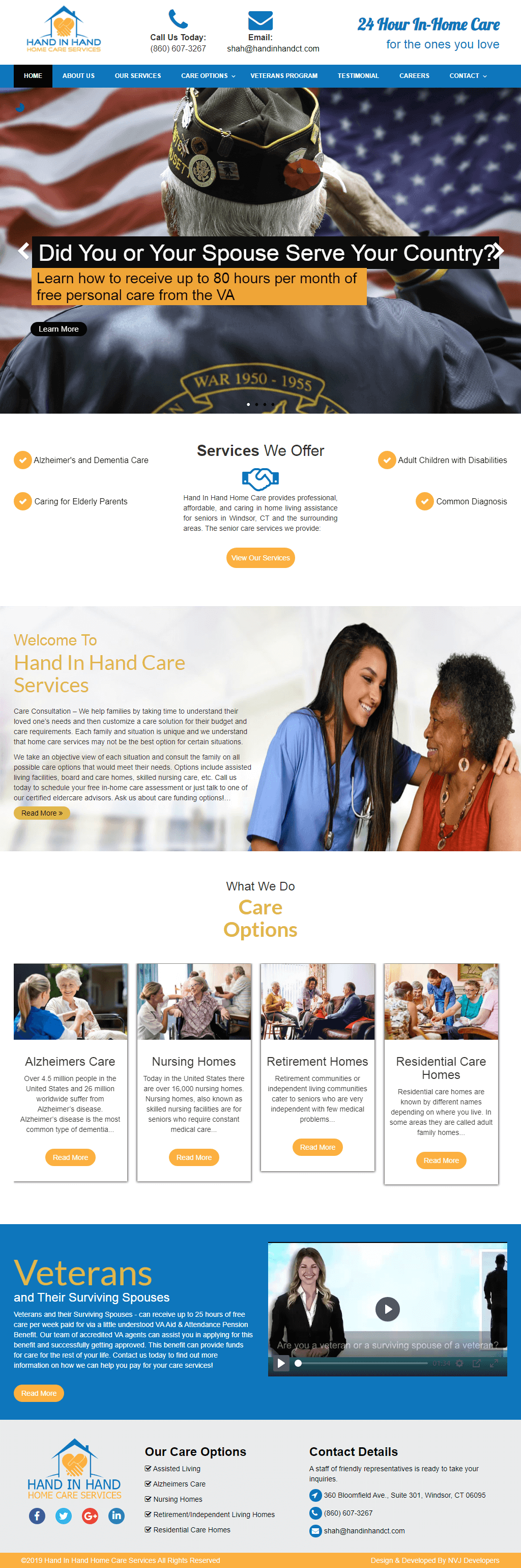 Hand In Hand Home Care (USA)