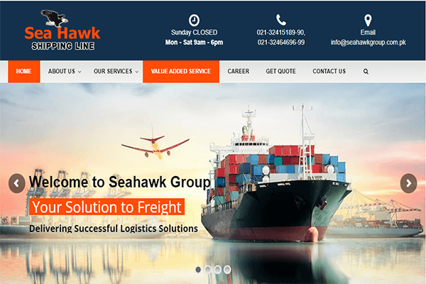 sea-hawk-shipping-line-website