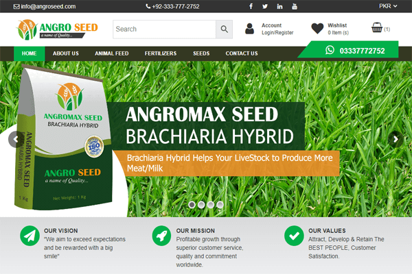 Angro Seed (Online Store)